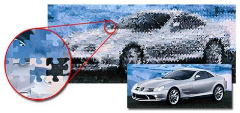 تبدیل تصاویر معمولی به موزاییکی - Mosaizer Pro